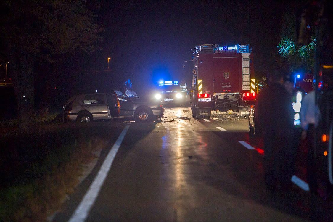 Osam ozlijeđenih osoba u sudaru dva auta kod Novog Vinodolskog, u jednom su navodno bili migranti