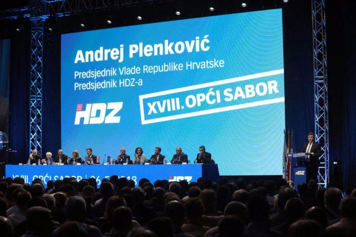 HDZ. Sabor, Plenković, statut