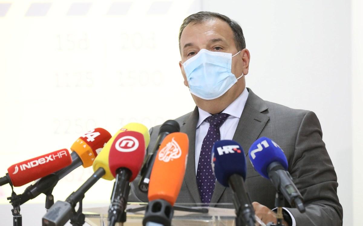 Beroš: Vjerojatno sam se zarazio u ministarstvu, iako sam se trudio zaštititi